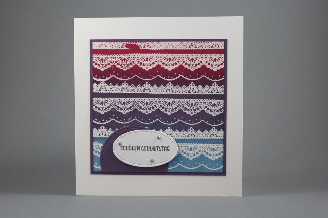 Geburtstagskarte Delicate Details von Stampin' Up!