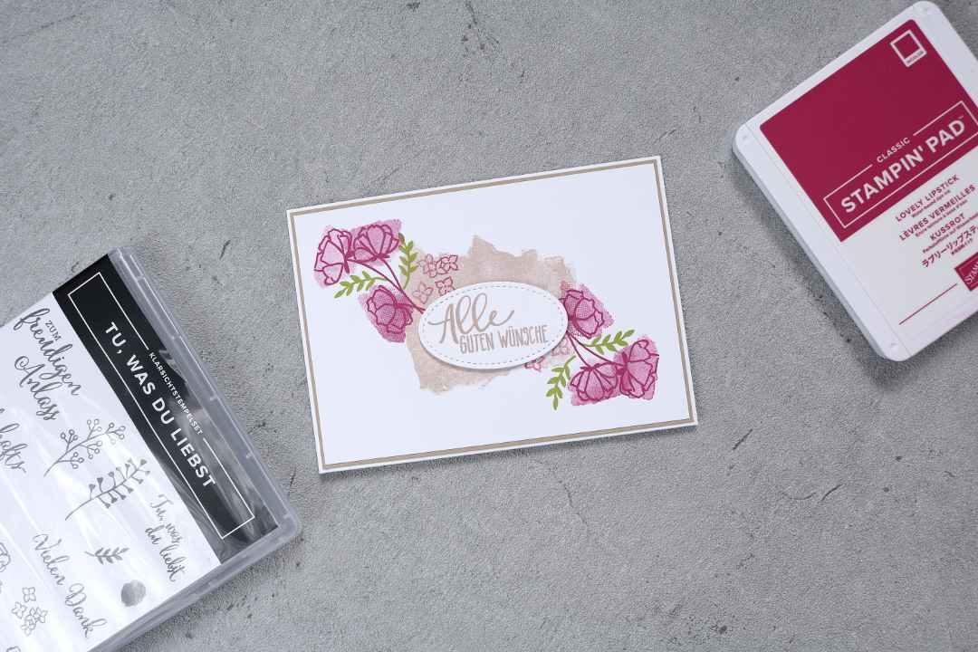 Geburtstagskarte Tu was du liebst Fumie1