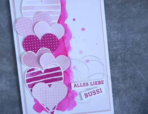 Grußkarte Heart Happiness mit Produkten von Stampin' Up! 2