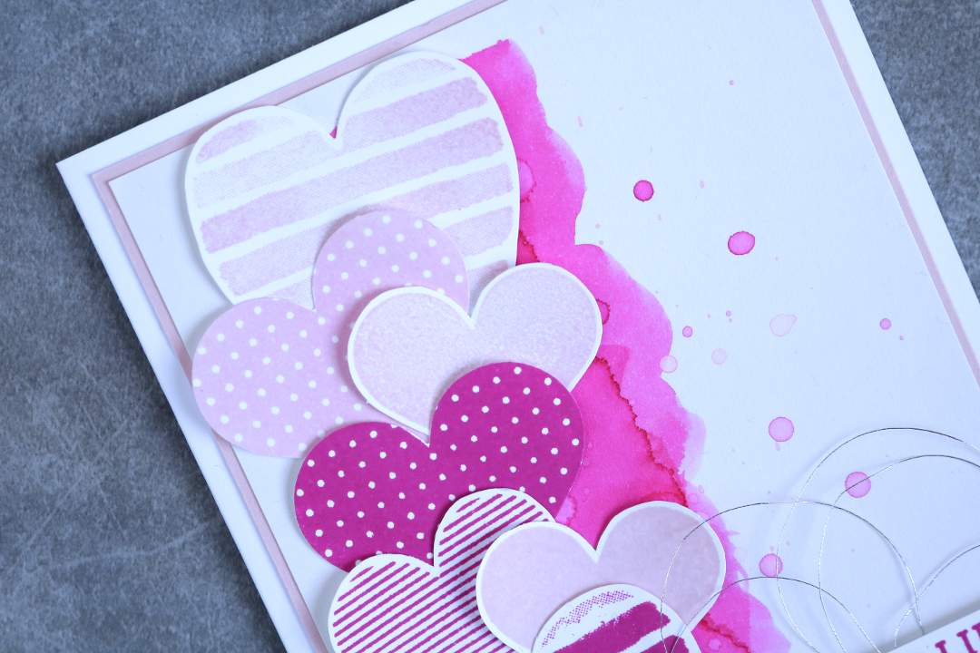 Grußkarte Heart Happiness mit Produkten von Stampin' Up! 4