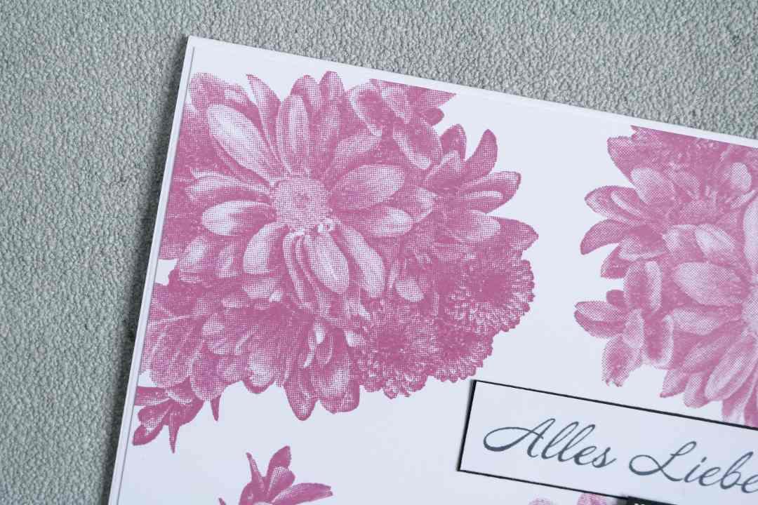 Grußkarte SAB Alles Liebe mit Blumen von Herzen von Stampin' Up! 3