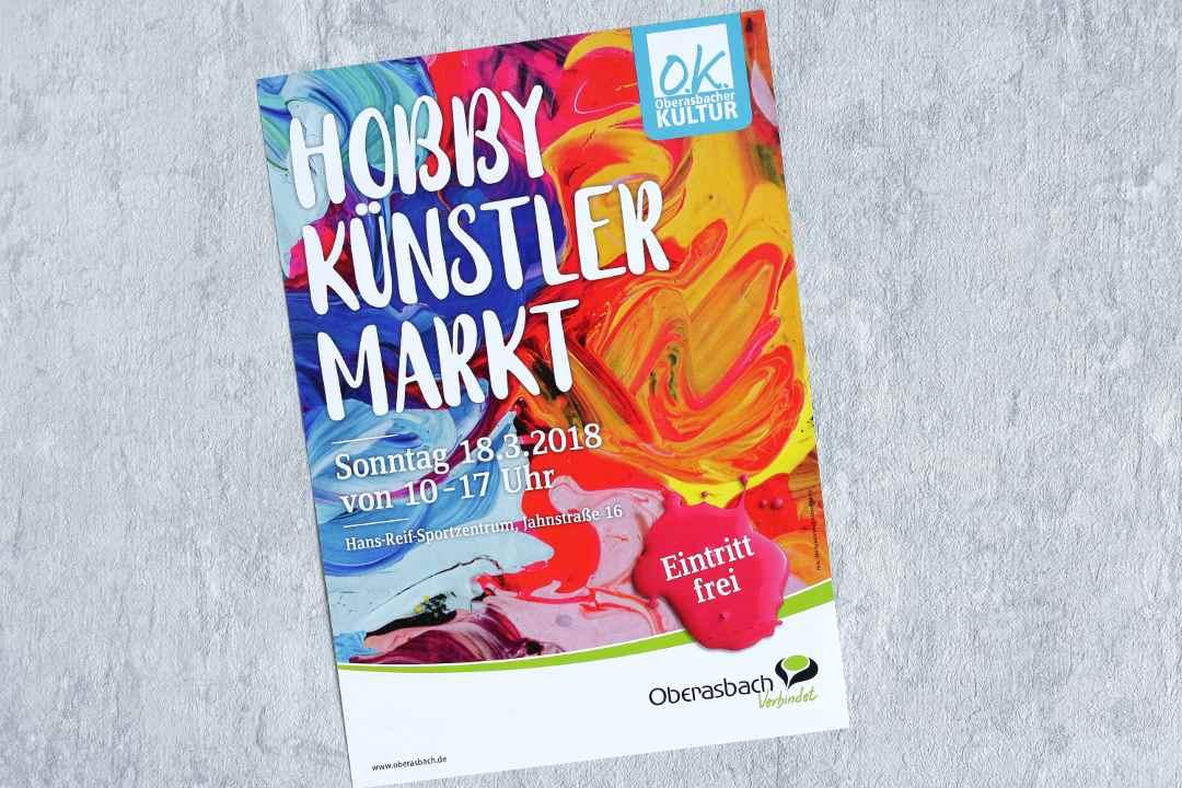 Hobbykünstlermarkt Oberasbach 18.03.2018