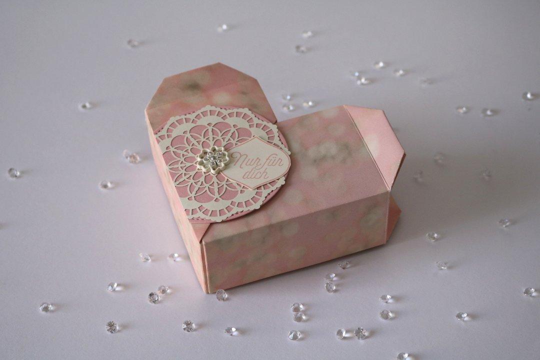 Origami Herzbox zum verlieben von Stampin' Up! 1