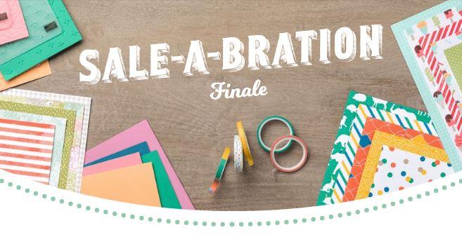 Sale-A-Bration Finale