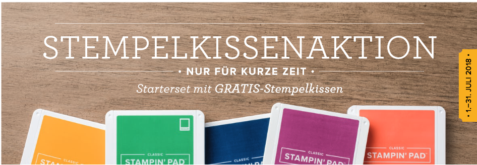 Komm in mein Team - Stempelkissenaktion