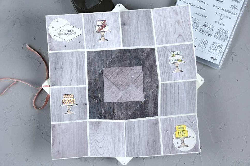 Twist-Fold-Karte mit Produkten von Stampin' Up! 1