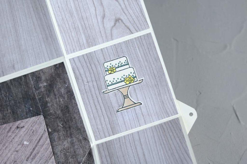 Twist-Fold-Karte mit Produkten von Stampin' Up! 3