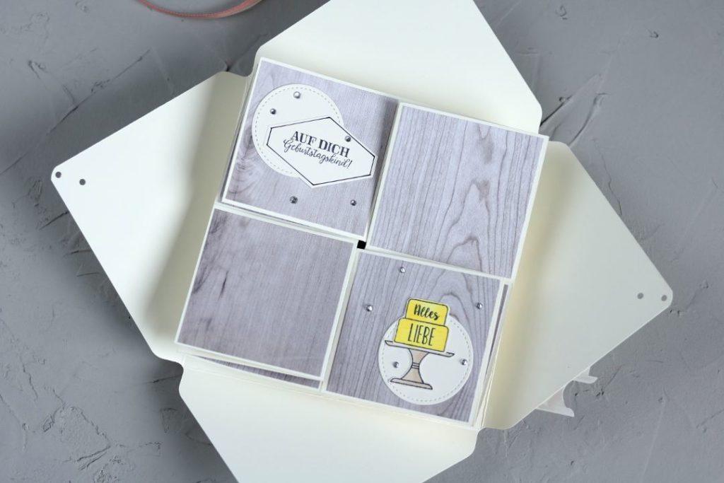 Twist-Fold-Karte mit Produkten von Stampin' Up! 4