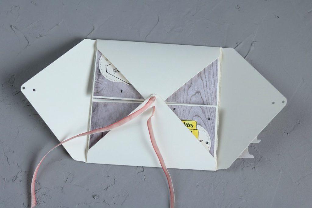 Twist-Fold-Karte mit Produkten von Stampin' Up! 5